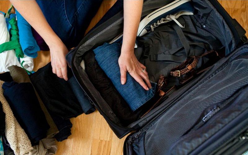 5. сбор чемодана