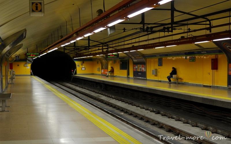 Метро Мадрида
