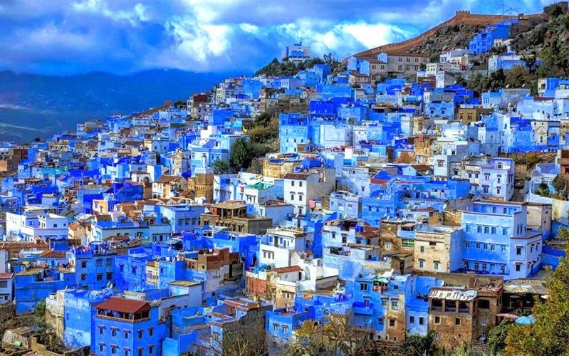 Синий город в Марокко 1