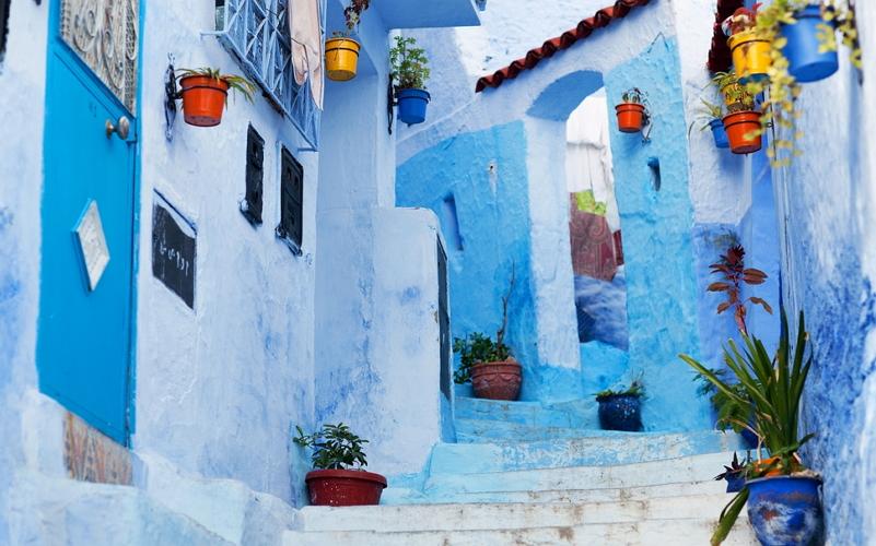 Синий город в Марокко 3