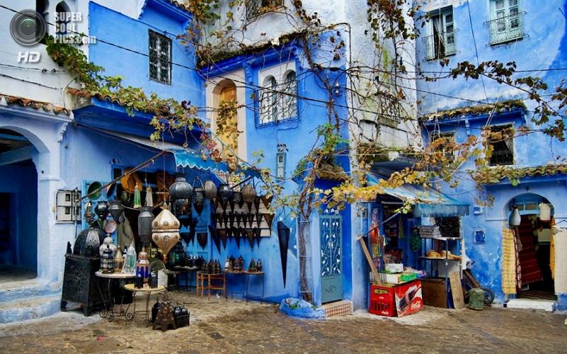 Синий город в Марокко 4