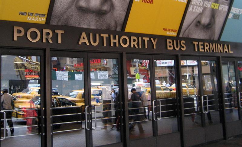 Port Authority Нью-Йорк Часть 1