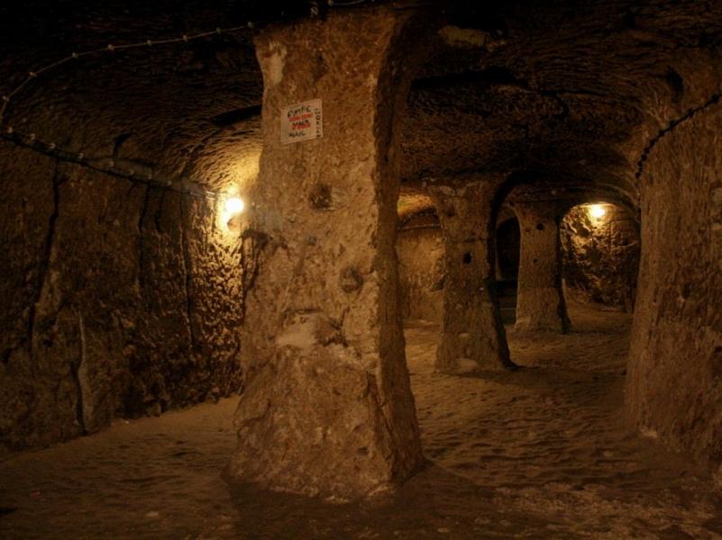 Подземный город в Турции 2