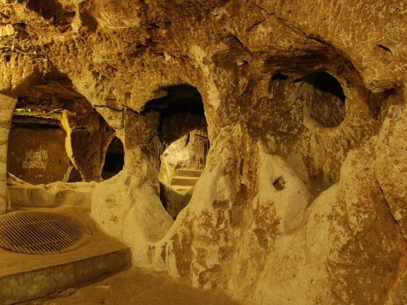 Подземный город в Турции 4