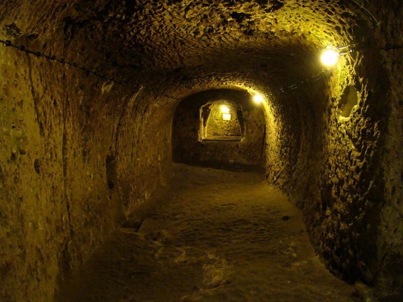 Подземный город в Турции 5