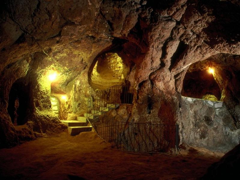 Подземный город в Турции 6