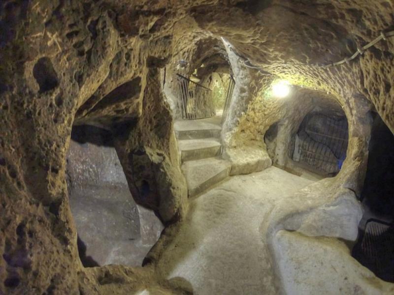 Подземный город в Турции 7