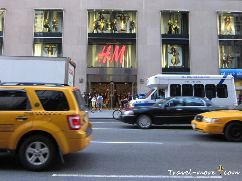 Нью-Йорк Часть 2 магазин H&M
