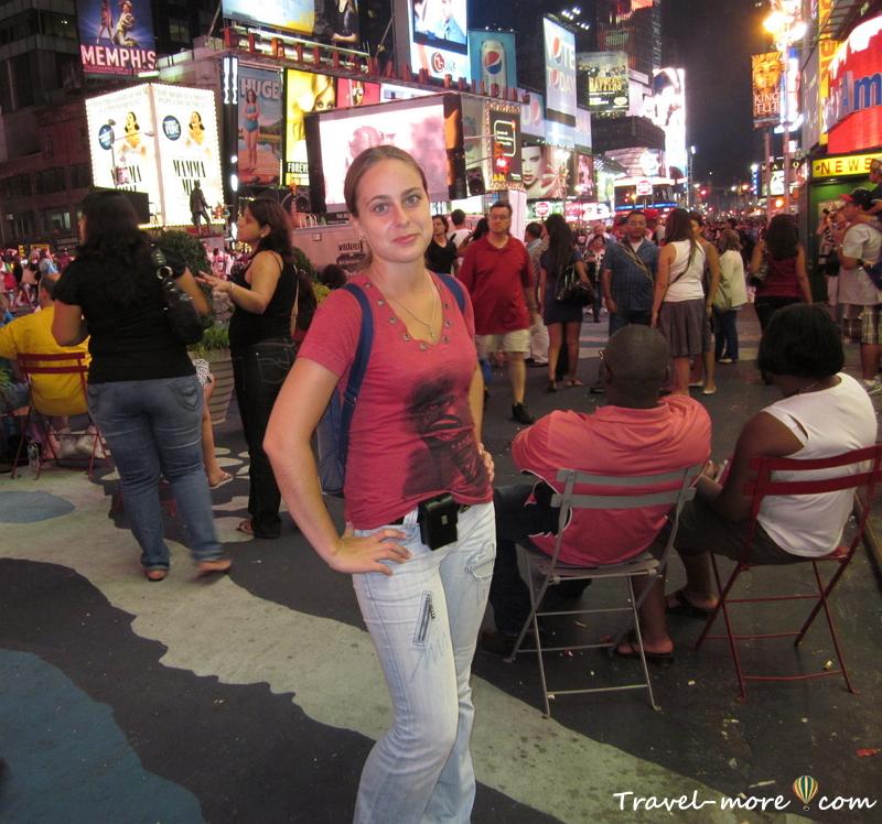 Бродвей, Таймс-сквер