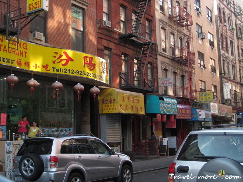 Чайнатаун в Нью-Йорке