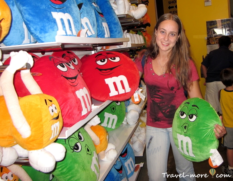 Нью-Йорк M&M's World