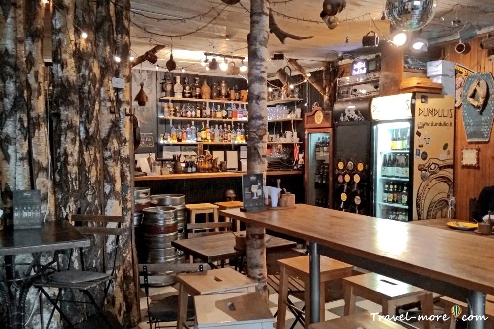 Кафе Шнекутис в Вильнюсе