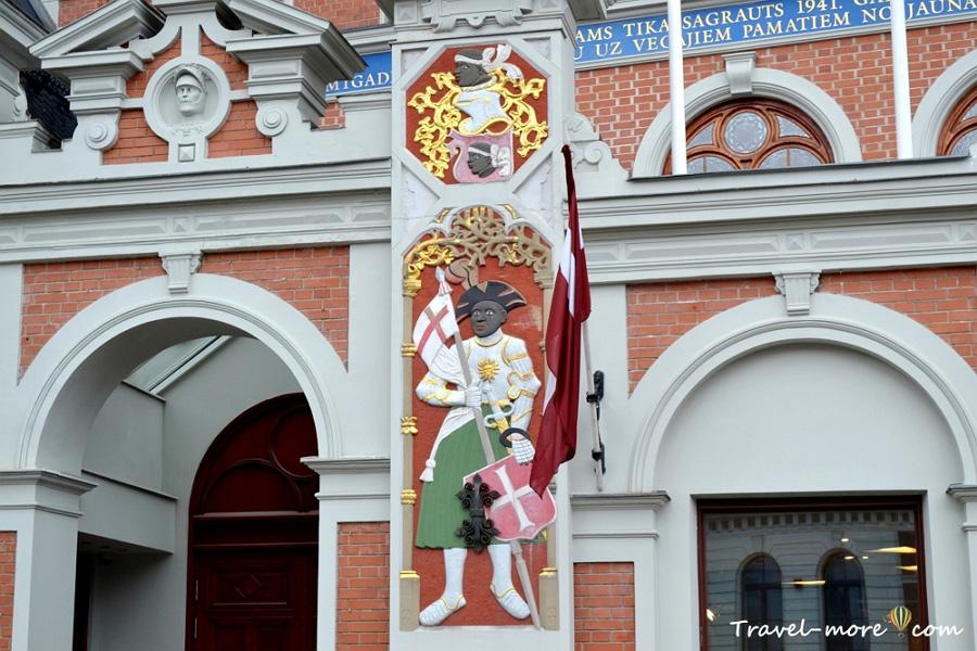 Дом Черноголовых в Риге