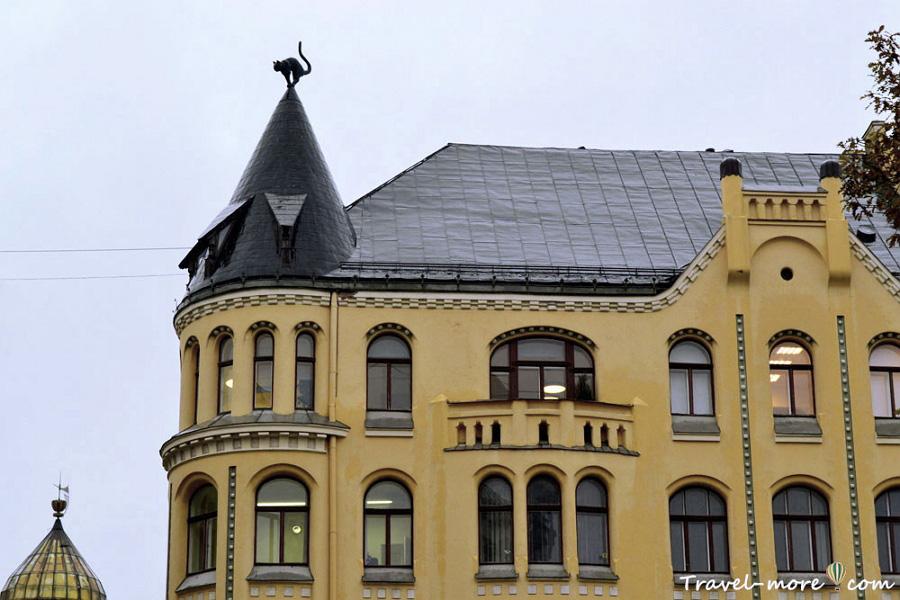 Кошкин дом в Риге