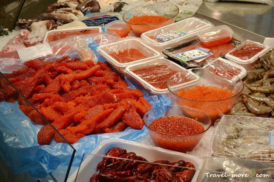 Центральный Рижский рынок (икра)