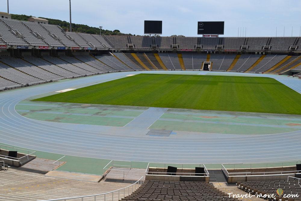 Олимпийский стадион в Барселоне