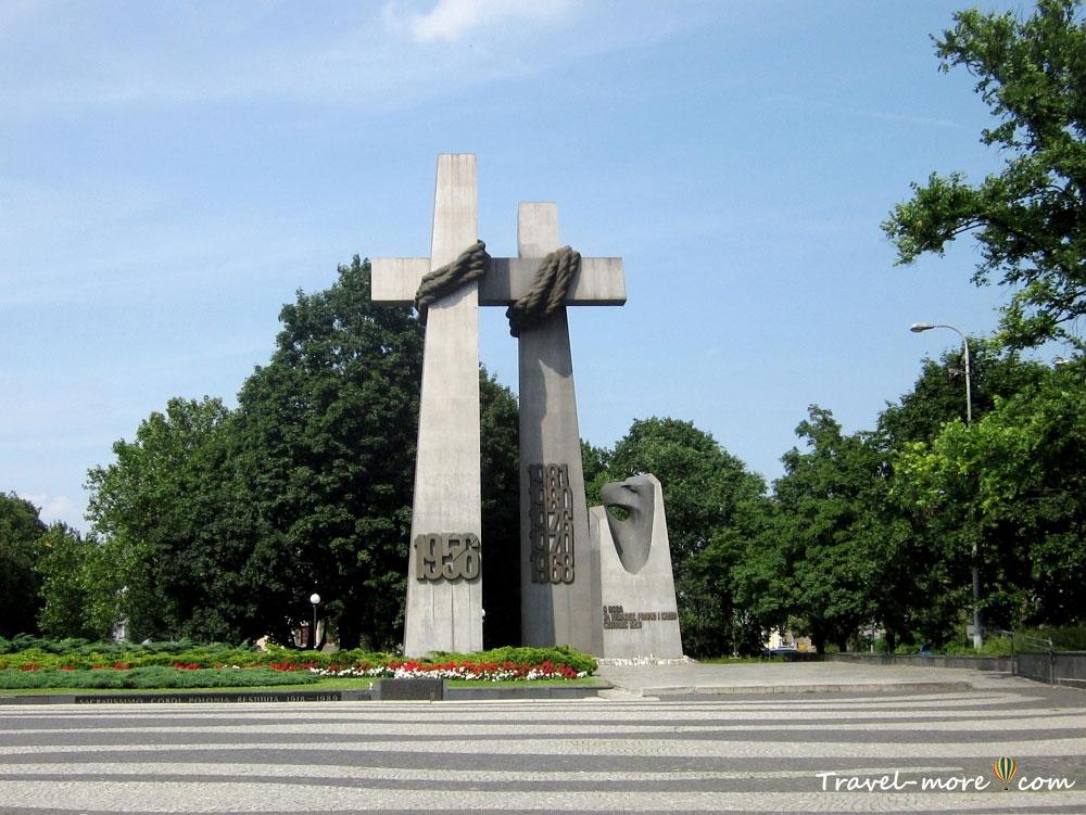 Памятник жертвам Познаньского июня