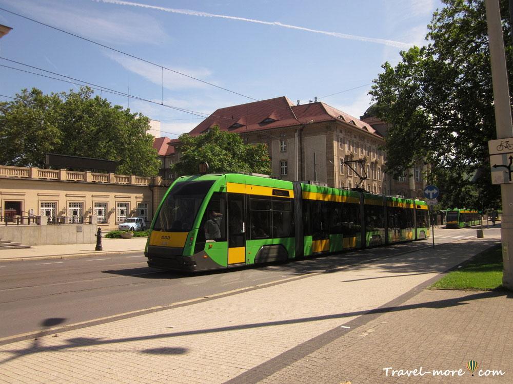 Транспорт Познани трамвай