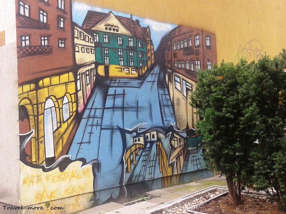 Граффити в Познани