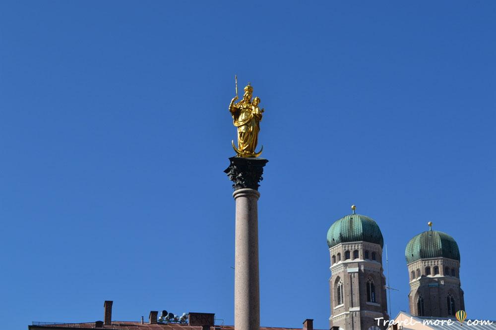 Чумной столб в Мюнхене