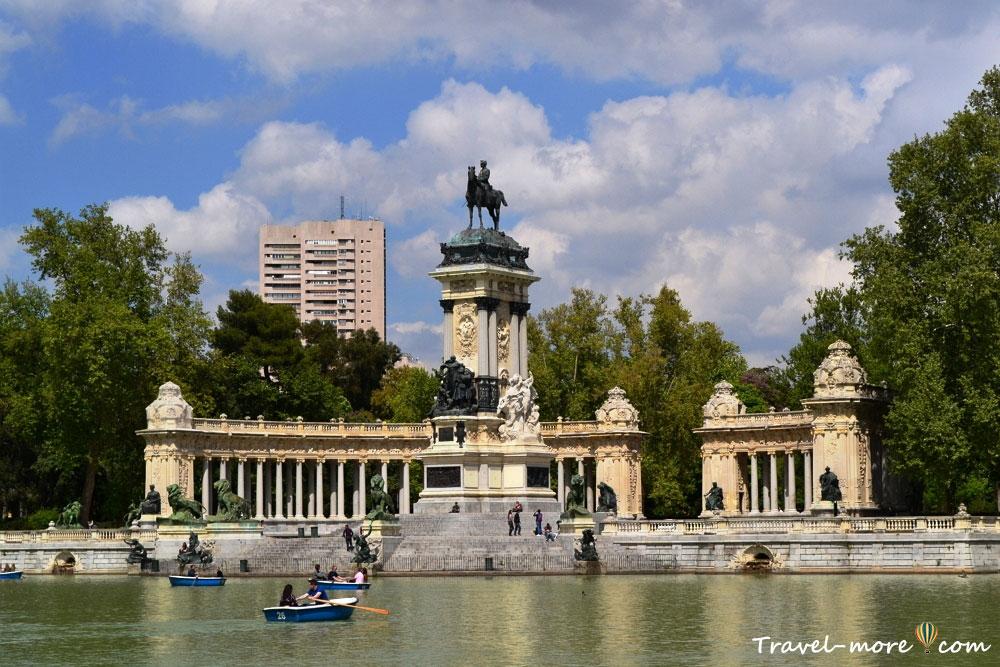 Мадрид Парк Буэн-Ретиро
