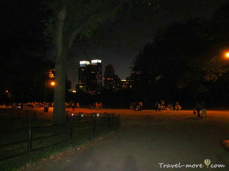Нью-Йорк Центральный Парк Central Park