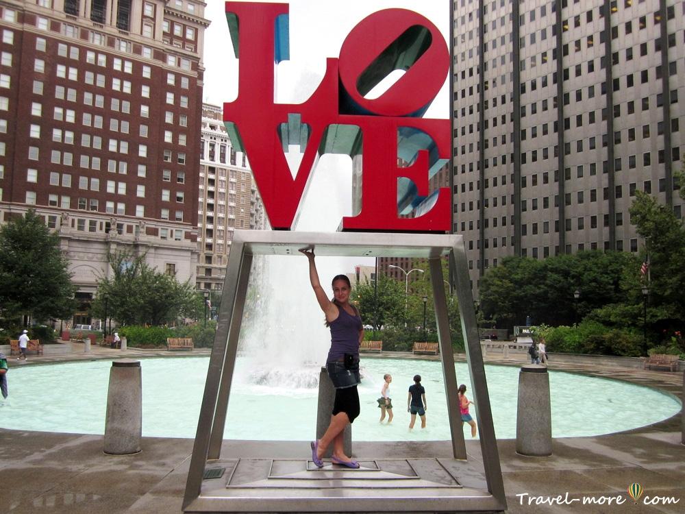Филадельфия Лав-парк (LOVE PARK)