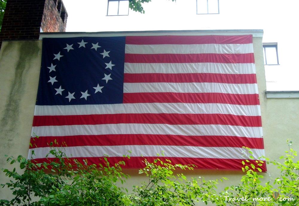 Флаг Бетси Росс (Betsy ross flag)