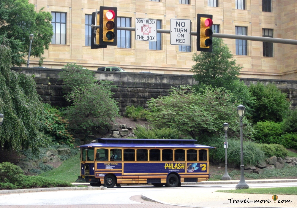 Экскурсионные автобусы Филадельфии