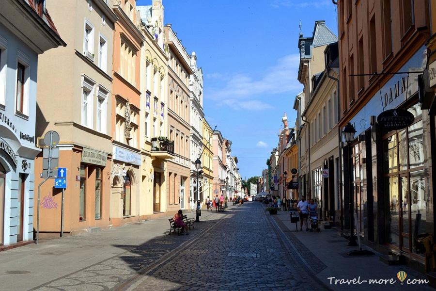 Быдгощ улица Длуга (Длинная)
