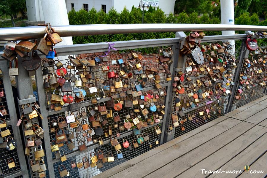 Быдгощ Мост Влюбленных