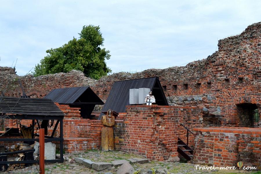 Музеи Торуня Замок крестоносцев