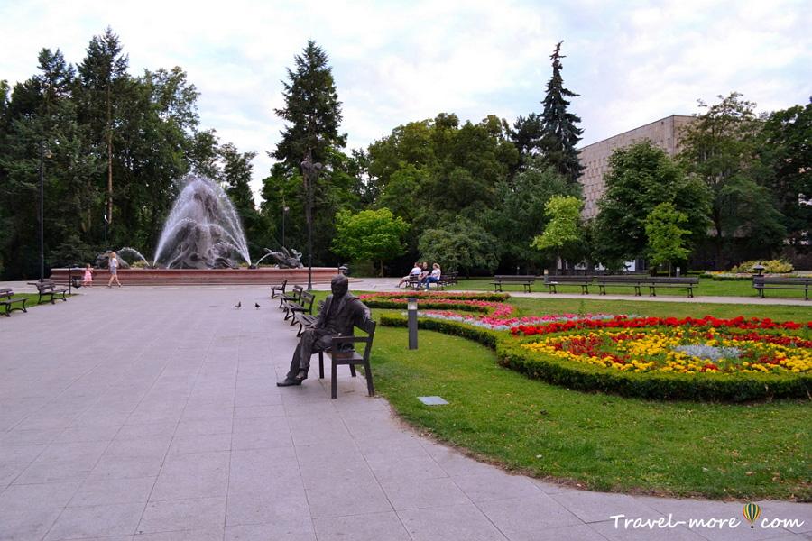 Быдгощ Парк Казимира Великого