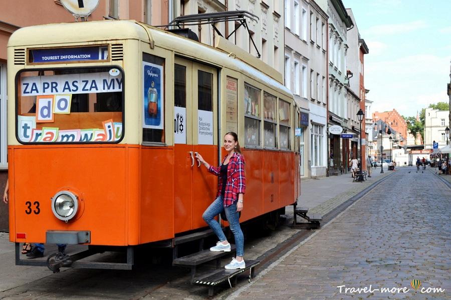 Быдгощ Старый трамвай