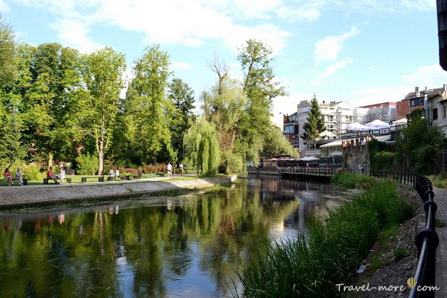 Быдгощ река Брда