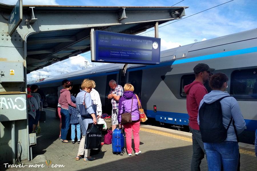 ЖД вокзал Варшава Заходняя