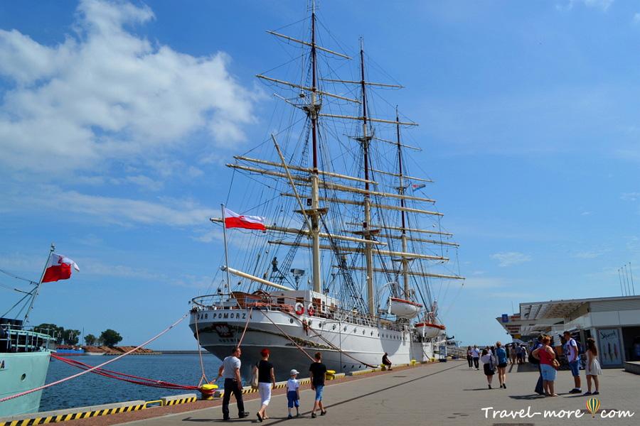 Гдыня корабль музей