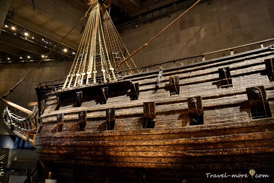 Корабль Васа в Стокгольме