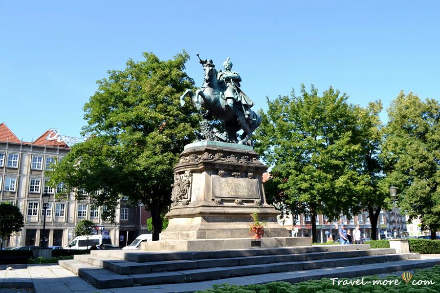 Гданьск Памятник Яну III Собескому