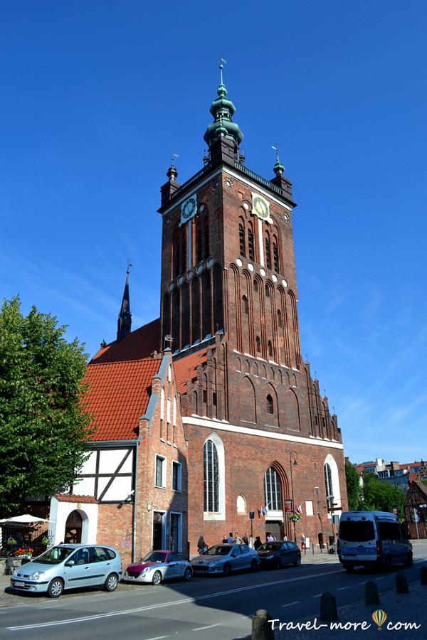 Гданьск Собор Святой Екатерины