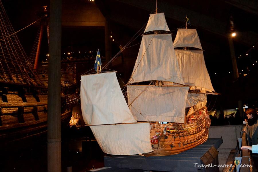 Корабль Ваза в Стокгольме