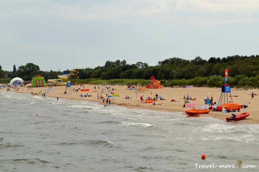 Пляж Бжезьно
