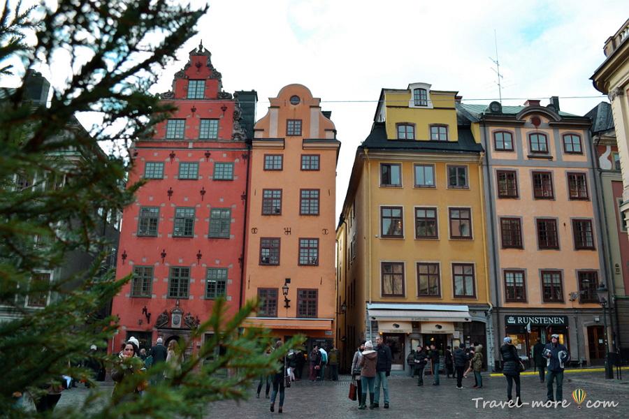 Стокгольм Старый город