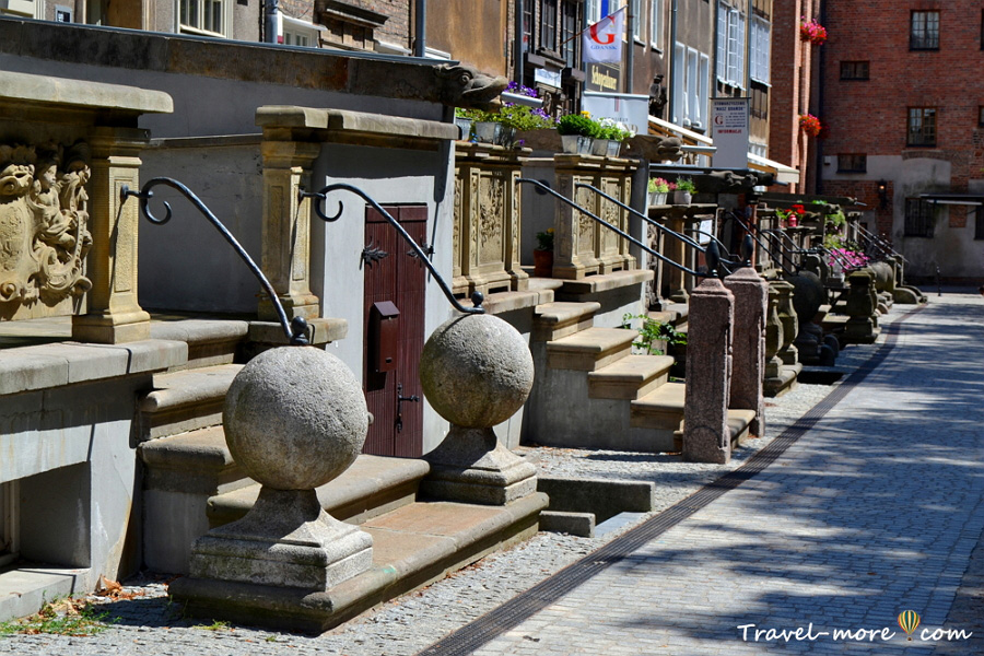 Гданьск улочка Святого духа