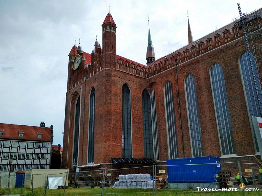 Гданьск Церковь Девы Марии (Базилика Мариацка, Мариацкий костел)