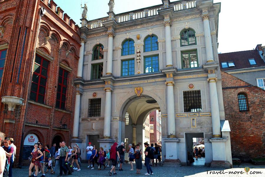 Гданьск Золотые ворота