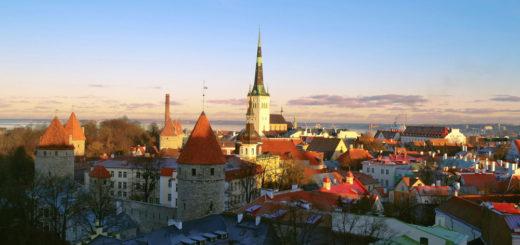 Таллин панорама