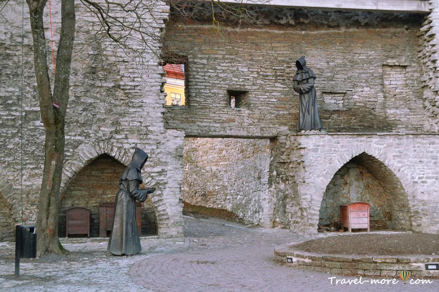 Смотровая площадка Таллин Монахи