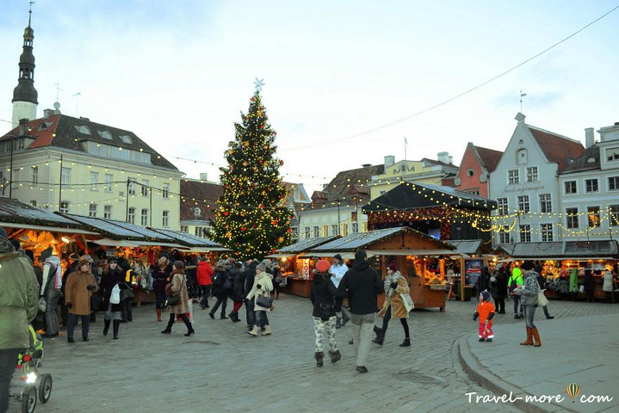 Рождественская ярмарка, Таллин