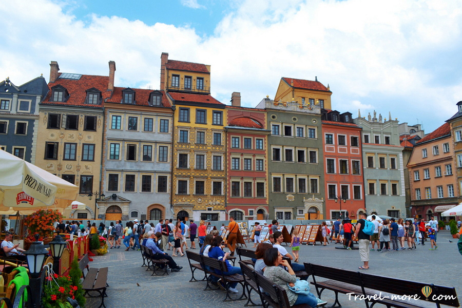 Рыночная площадь Варшава